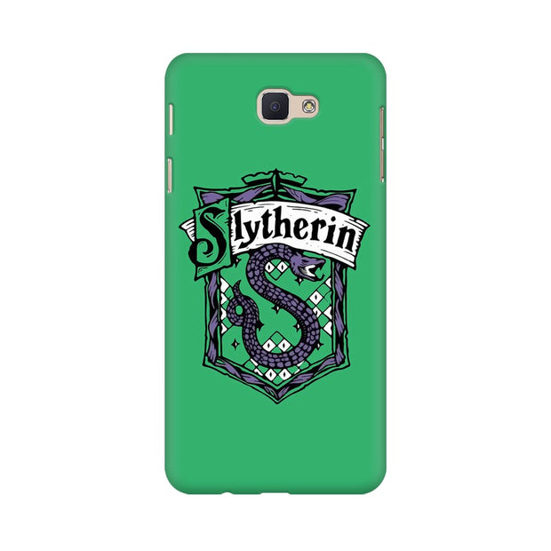 Samsung J5 Prime Slytherin House Crest Harry Potter Phone Cover & Case