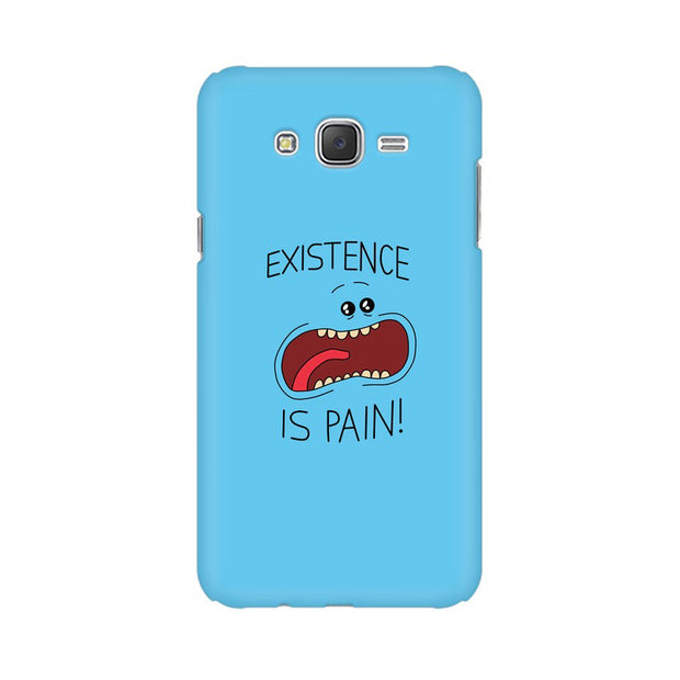 Samsung J5 Existence Is Pain Mr Meeseeks Rick & Morty Phone Cover & Case