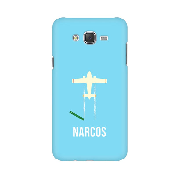 Samsung J5 Narcos TV Series  Minimal Fan Art Phone Cover & Case