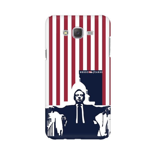 Samsung J5 House Of Cards Underwood On Chair Phone Cover & Case