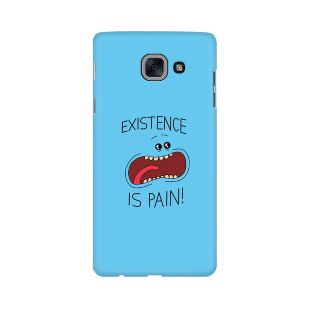Samsung J7 Max Existence Is Pain Mr Meeseeks Rick & Morty Phone Cover & Case