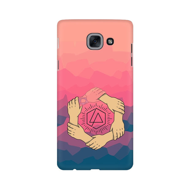 Samsung J7 Max Linkin Park Logo Chester Tribute Phone Cover & Case
