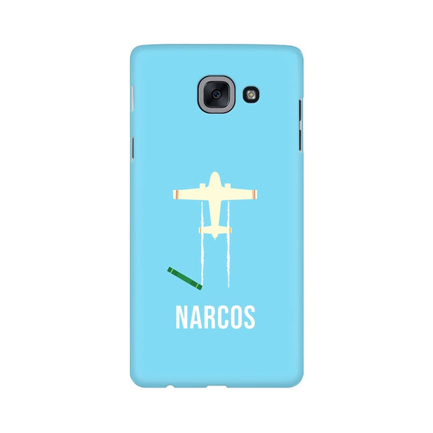 Samsung J7 Max Narcos TV Series  Minimal Fan Art Phone Cover & Case