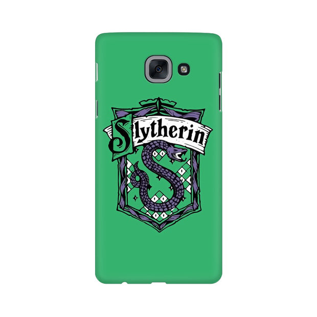 Samsung J7 Max Slytherin House Crest Harry Potter Phone Cover & Case