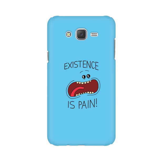 Samsung J7 Nxt Existence Is Pain Mr Meeseeks Rick & Morty Phone Cover & Case