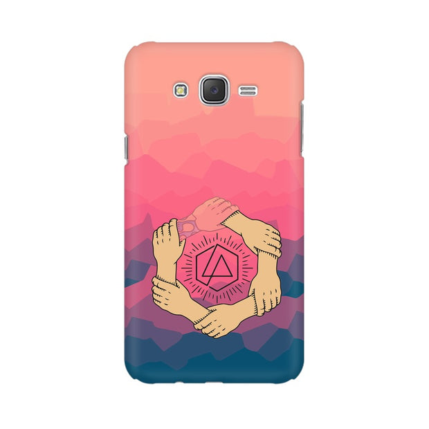 Samsung J7 Nxt Linkin Park Logo Chester Tribute Phone Cover & Case