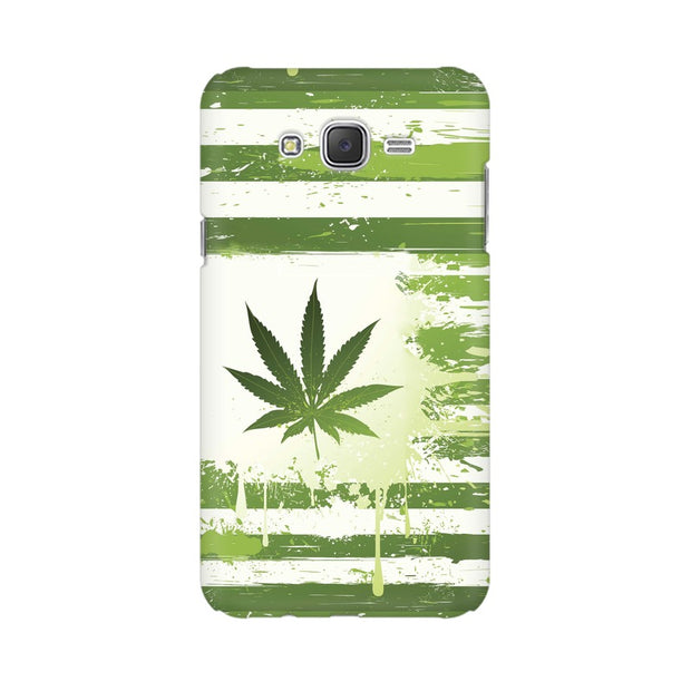 Samsung J7 Nxt Weed Flag  Phone Cover & Case
