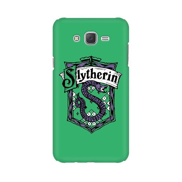Samsung J7 Nxt Slytherin House Crest Harry Potter Phone Cover & Case
