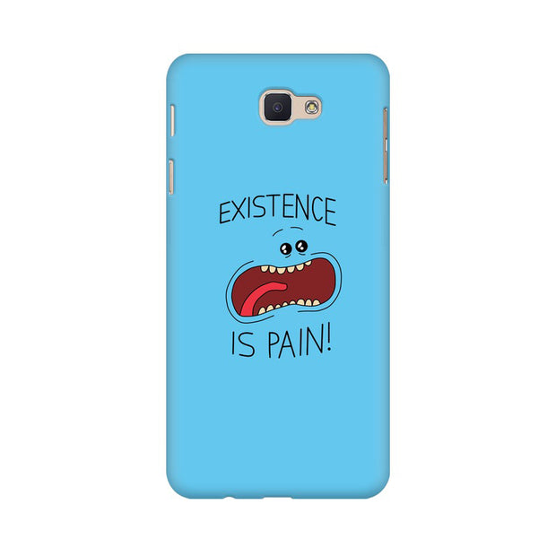 Samsung J7 Prime Existence Is Pain Mr Meeseeks Rick & Morty Phone Cover & Case
