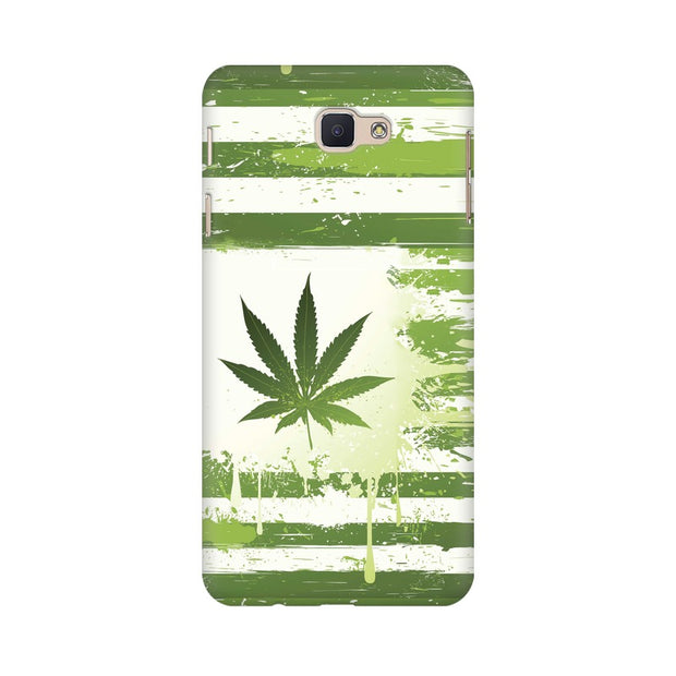 Samsung J7 Prime Weed Flag  Phone Cover & Case