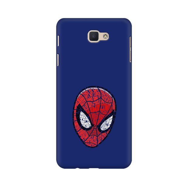 Samsung J7 Prime Spider Man Graphic Fan Art Phone Cover & Case