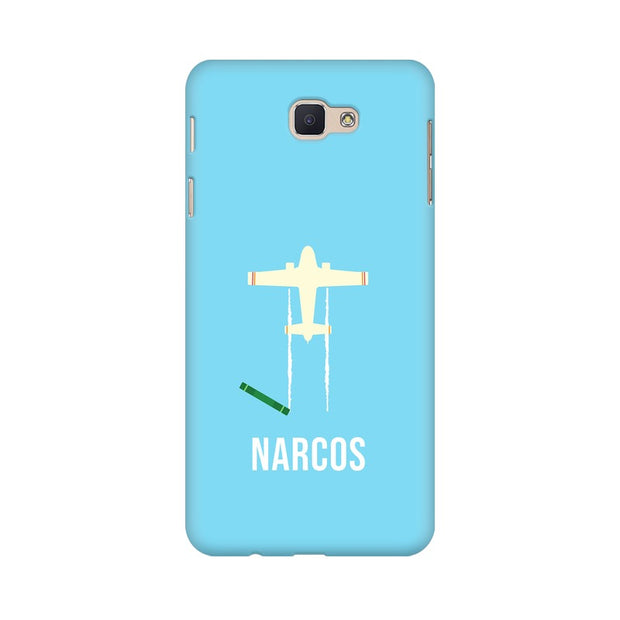 Samsung J7 Prime Narcos TV Series  Minimal Fan Art Phone Cover & Case