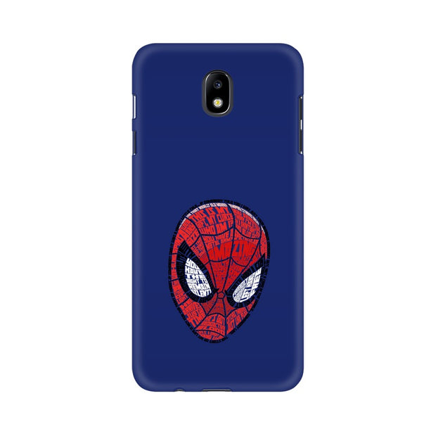Samsung J7 Pro Spider Man Graphic Fan Art Phone Cover & Case