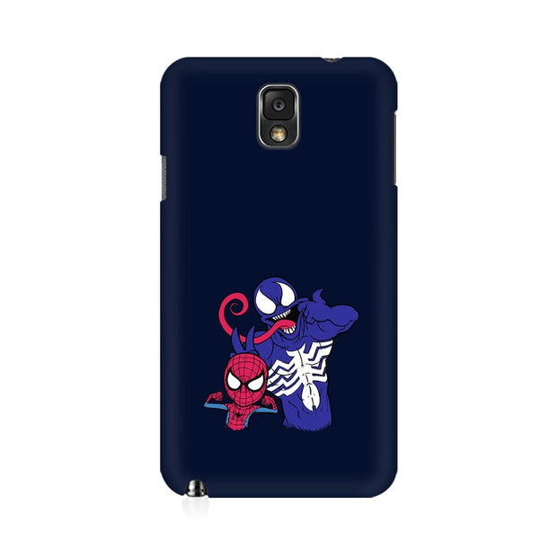 Samsung Note 3 Spider Man & Venom Funny Phone Cover & Case