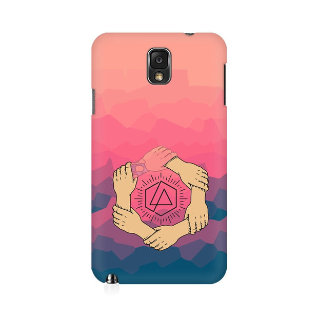 Samsung Note 3 Linkin Park Logo Chester Tribute Phone Cover & Case
