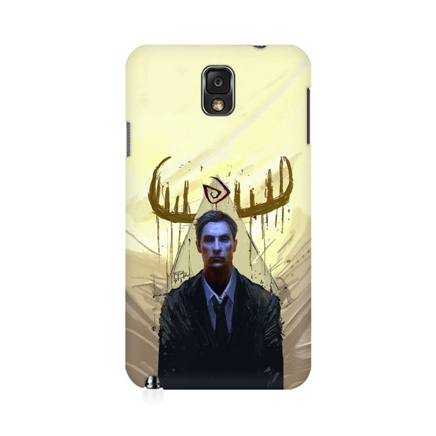 Samsung Note 3 True Detective Rustin Fan Art Phone Cover & Case