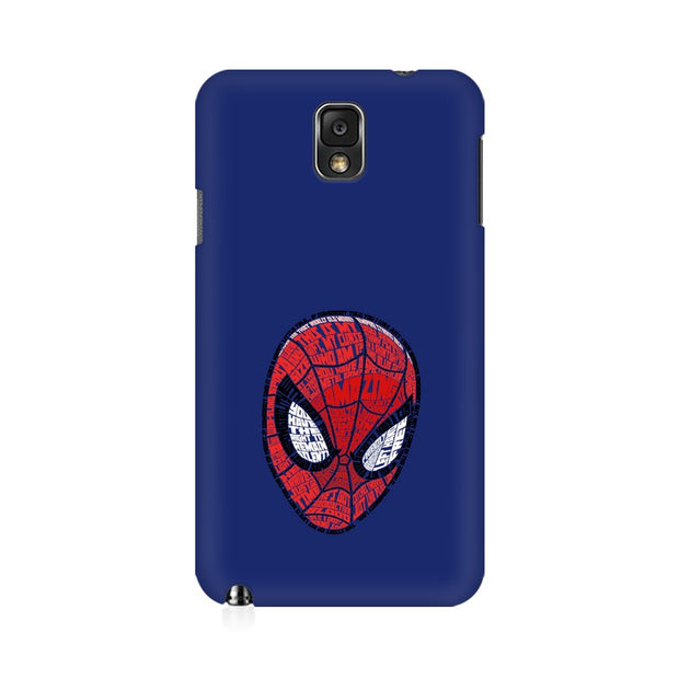 Samsung Note 3 Spider Man Graphic Fan Art Phone Cover & Case