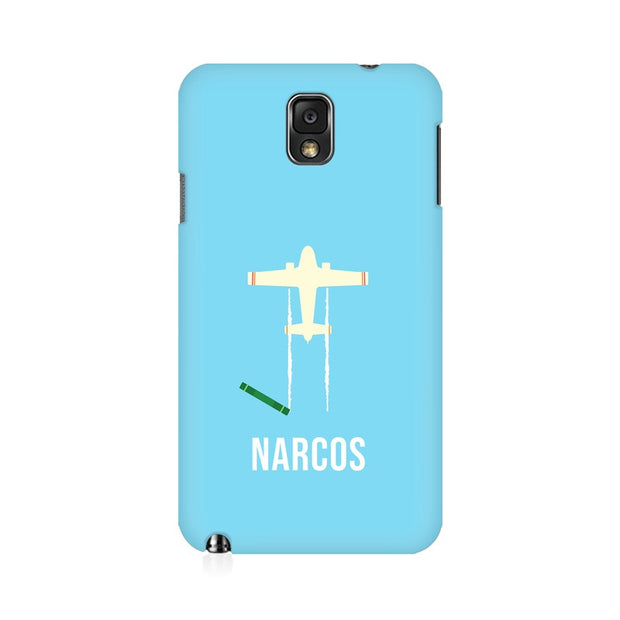 Samsung Note 3 Narcos TV Series  Minimal Fan Art Phone Cover & Case