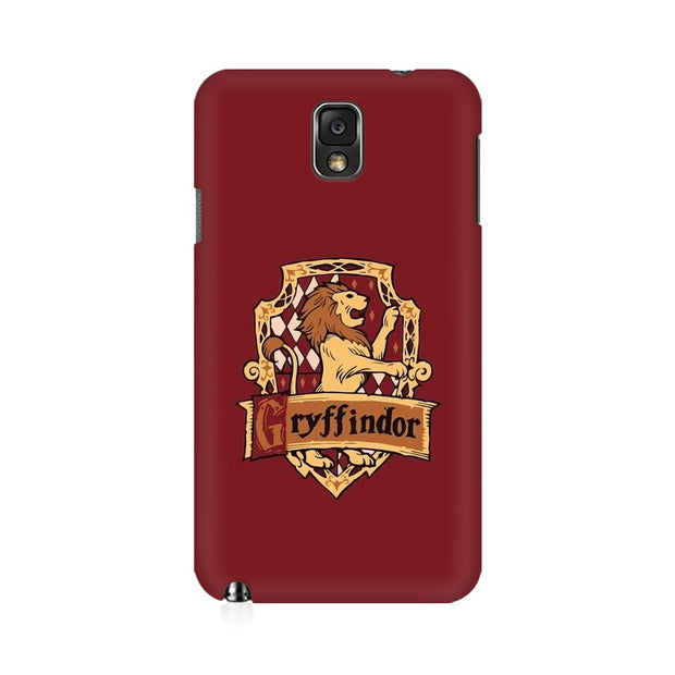 Samsung Note 3 Gryffindor House Crest Harry Potter Phone Cover & Case