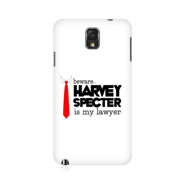 Samsung Note 3 Harvey Spectre Is My Lawyer Suits Phone Cover & Case
