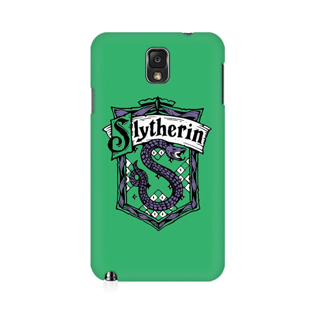 Samsung Note 3 Slytherin House Crest Harry Potter Phone Cover & Case