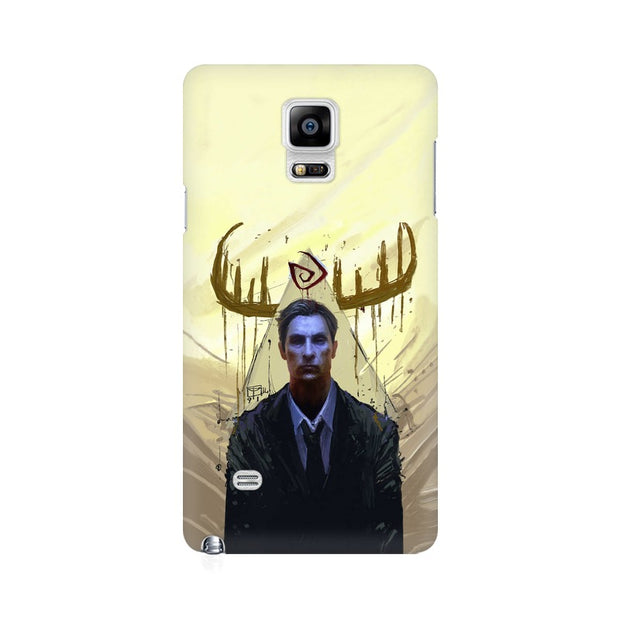 Samsung Note 4 True Detective Rustin Fan Art Phone Cover & Case
