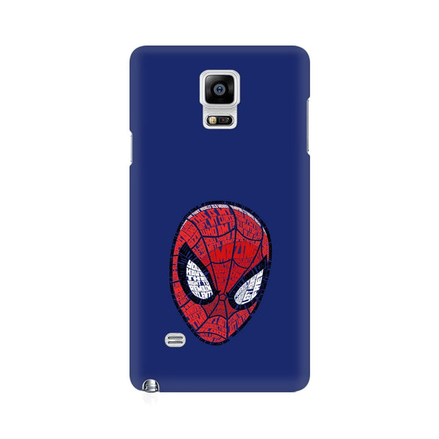 Samsung Note 4 Spider Man Graphic Fan Art Phone Cover & Case