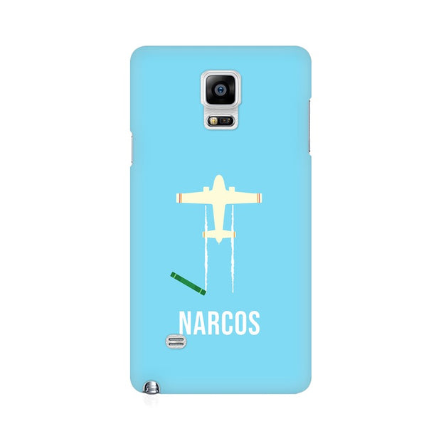 Samsung Note 4 Narcos TV Series  Minimal Fan Art Phone Cover & Case