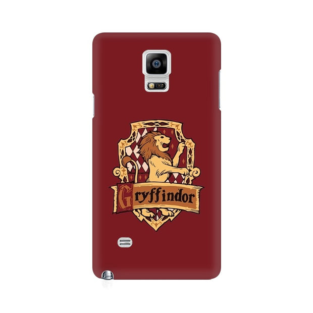 Samsung Note 4 Gryffindor House Crest Harry Potter Phone Cover & Case