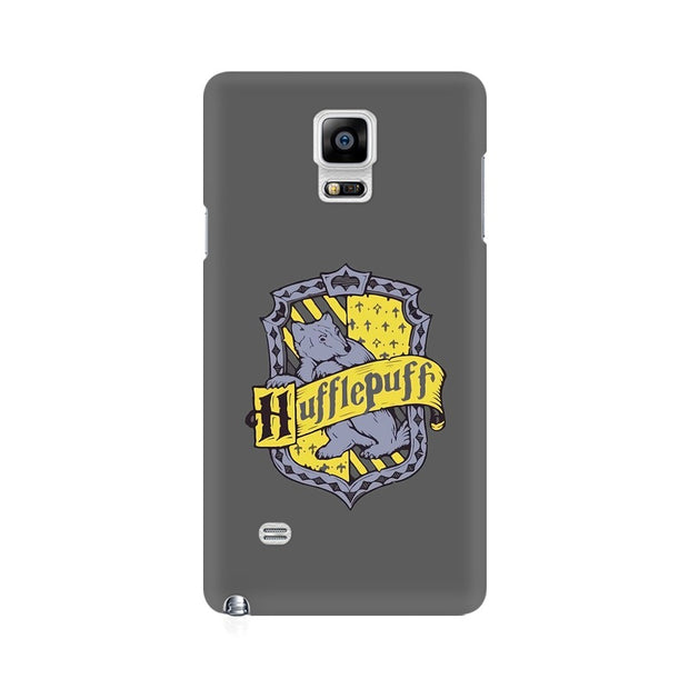 Samsung Note 4 Hufflepuff House Crest Harry Potter Phone Cover & Case