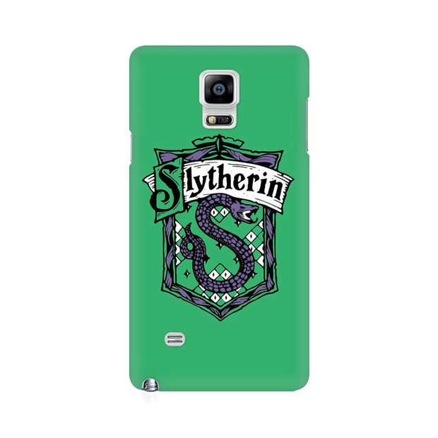 Samsung Note 4 Slytherin House Crest Harry Potter Phone Cover & Case