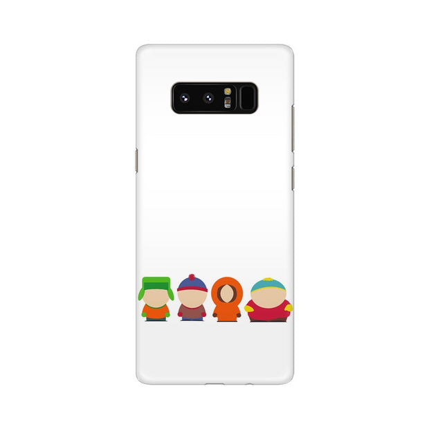 Samsung Note 8 South Park Minimal Phone Cover & Case