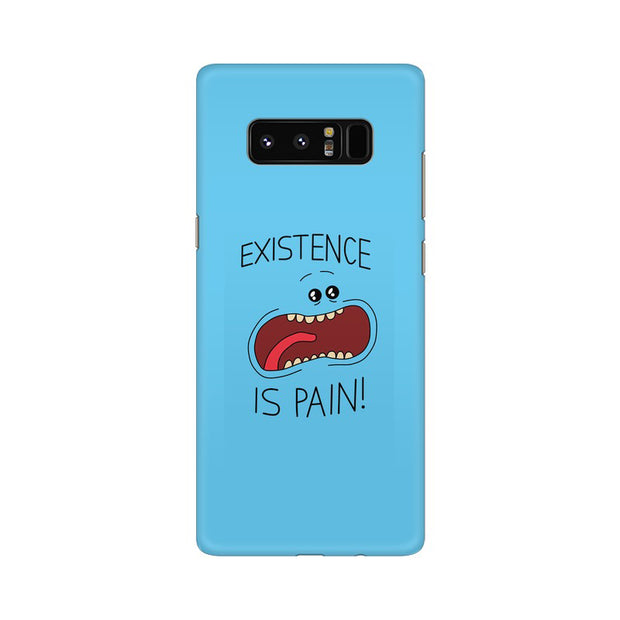 Samsung Note 8 Existence Is Pain Mr Meeseeks Rick & Morty Phone Cover & Case