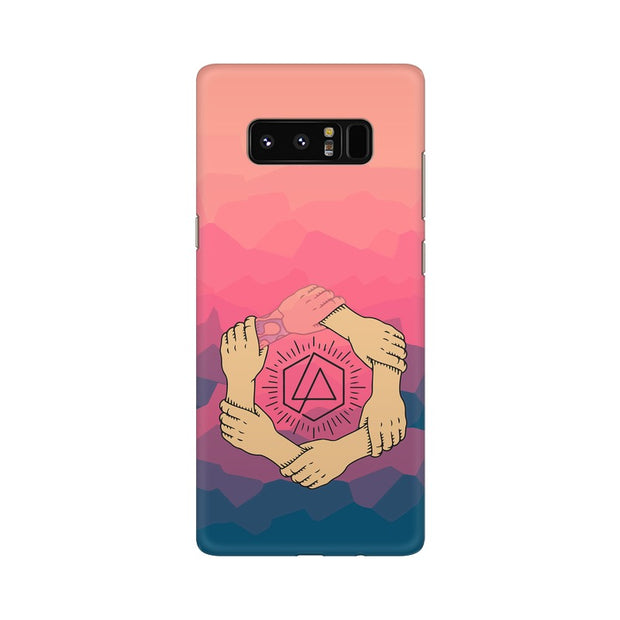 Samsung Note 8 Linkin Park Logo Chester Tribute Phone Cover & Case