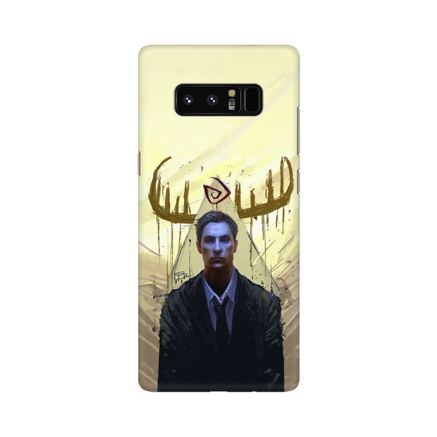 Samsung Note 8 True Detective Rustin Fan Art Phone Cover & Case