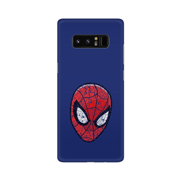 Samsung Note 8 Spider Man Graphic Fan Art Phone Cover & Case