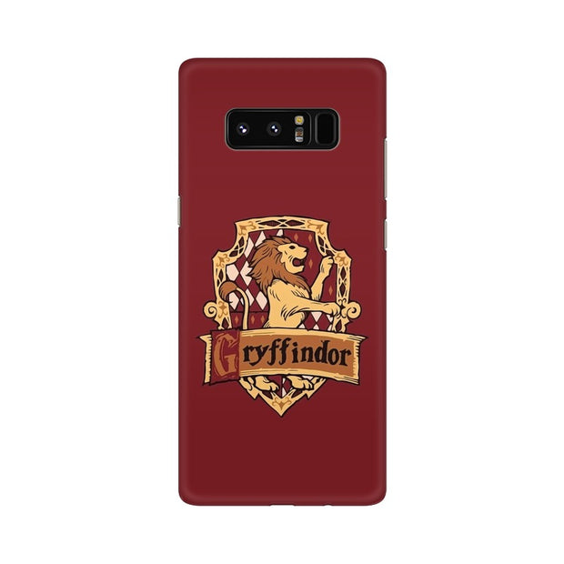 Samsung Note 8 Gryffindor House Crest Harry Potter Phone Cover & Case