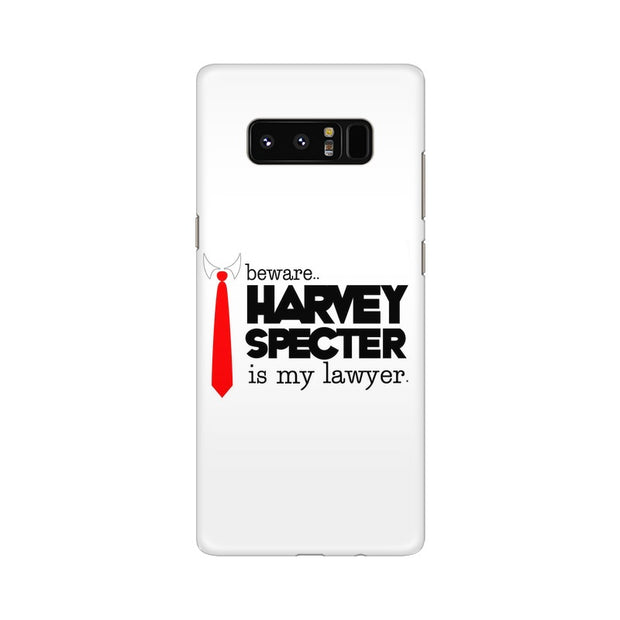 Samsung Note 8 Harvey Spectre Is My Lawyer Suits Phone Cover & Case