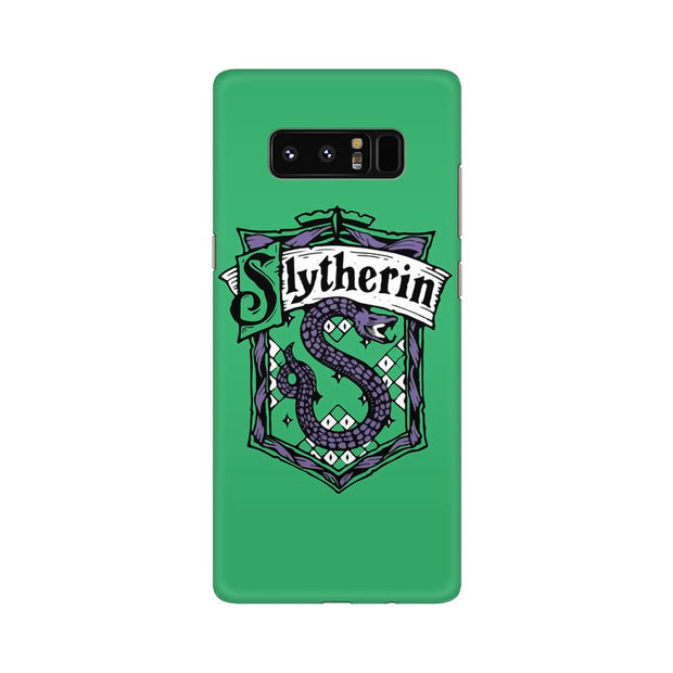 Samsung Note 8 Slytherin House Crest Harry Potter Phone Cover & Case