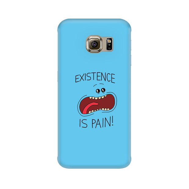 Samsung S6 Edge Plus Existence Is Pain Mr Meeseeks Rick & Morty Phone Cover & Case