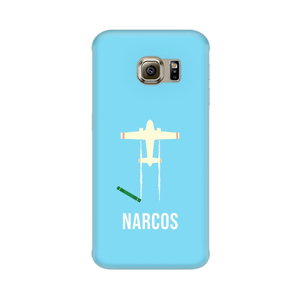 Samsung S6 Edge Plus Narcos TV Series  Minimal Fan Art Phone Cover & Case