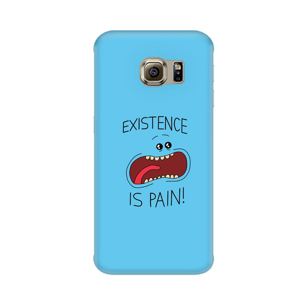 Samsung S6 Edge Existence Is Pain Mr Meeseeks Rick & Morty Phone Cover & Case