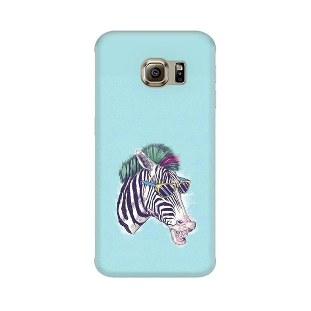 Samsung S6 Edge The Zebra Style Cool Phone Cover & Case