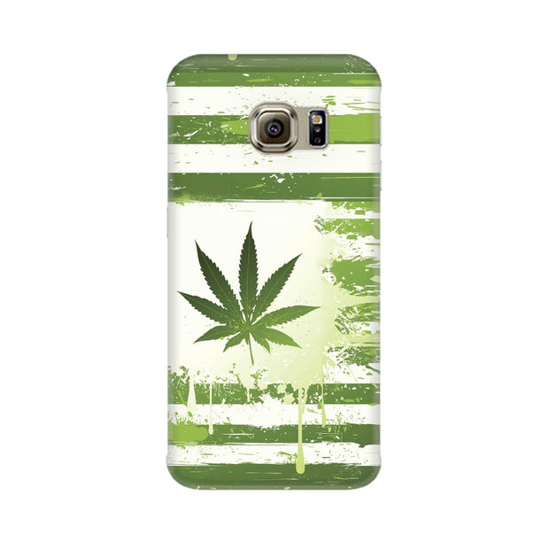 Samsung S6 Edge Weed Flag  Phone Cover & Case