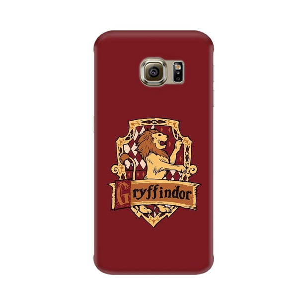 Samsung S6 Edge Gryffindor House Crest Harry Potter Phone Cover & Case