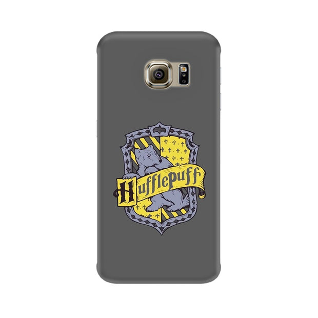 Samsung S6 Edge Hufflepuff House Crest Harry Potter Phone Cover & Case