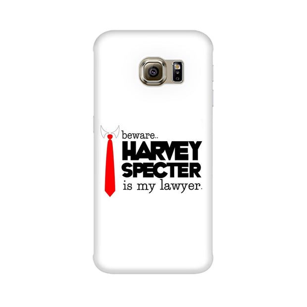 Samsung S6 Edge Harvey Spectre Is My Lawyer Suits Phone Cover & Case