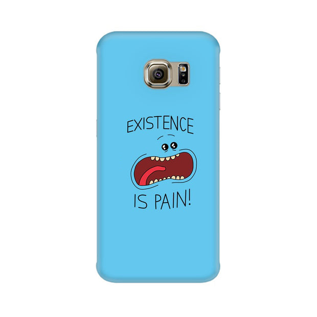 Samsung S6 Existence Is Pain Mr Meeseeks Rick & Morty Phone Cover & Case