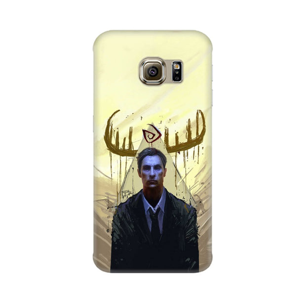 Samsung S6 True Detective Rustin Fan Art Phone Cover & Case