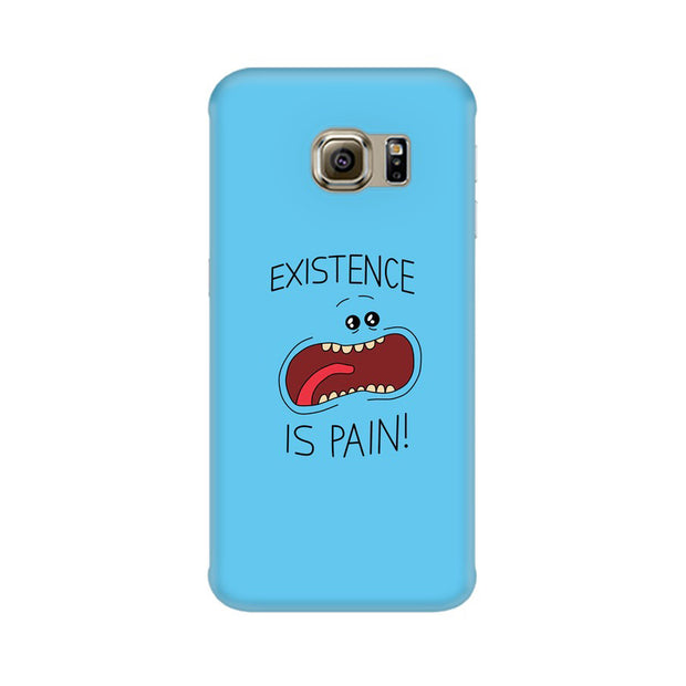 Samsung S7 Existence Is Pain Mr Meeseeks Rick & Morty Phone Cover & Case